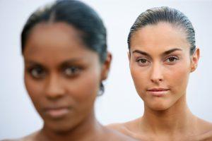 huid bleken voor het krijgen van een lichtere huid