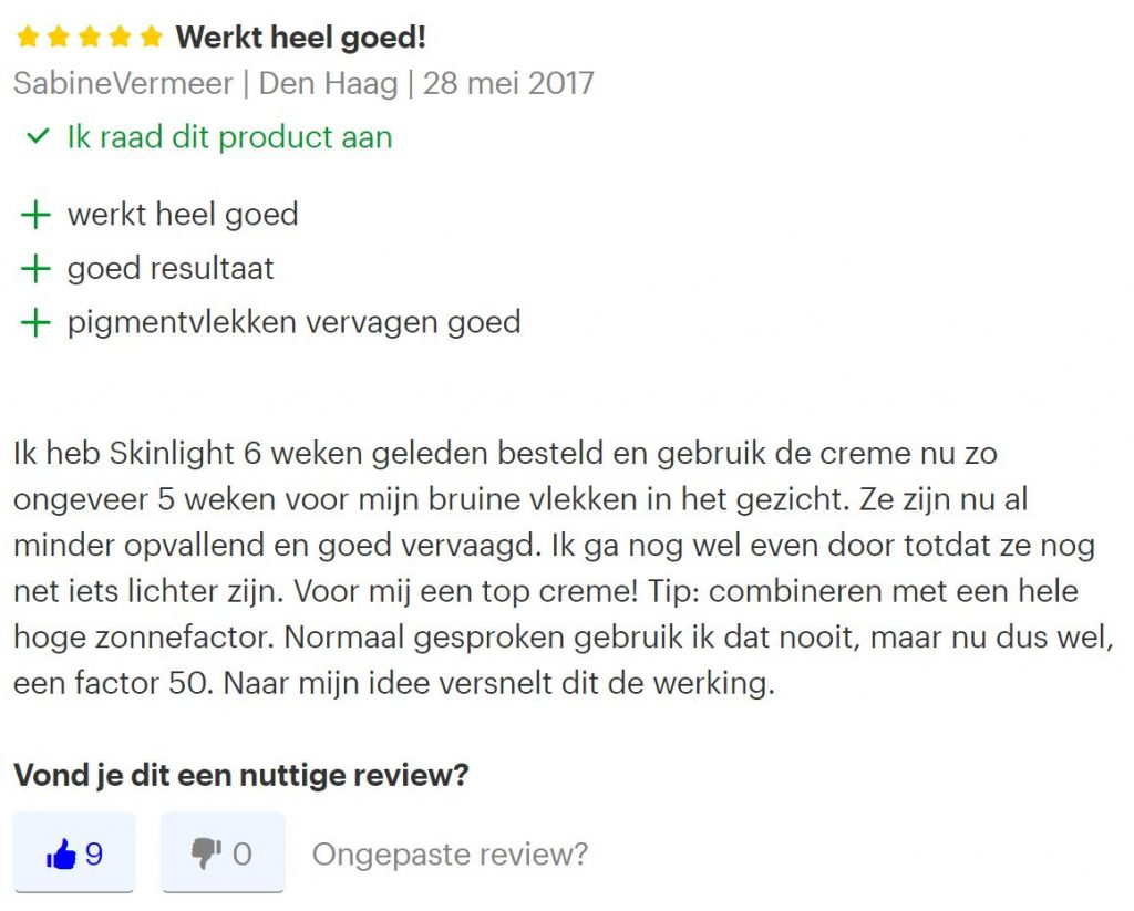 review skinlight